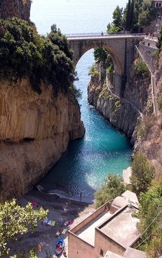 Fury Fjord, Naples, Italy #travel #destination #sights #paradise