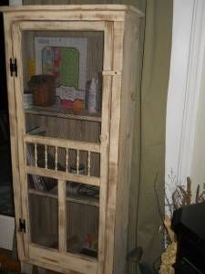 Old wooden screen door, love it!