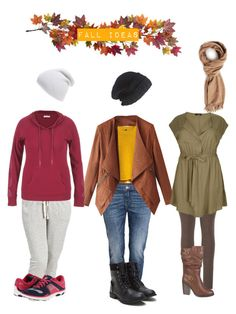 """Inspiring styles for fall"" by lb8730 on Polyvore featuring Nearly Natural, maurices, H&M, Laundromat, Old Navy, Brooks and Phase 3"