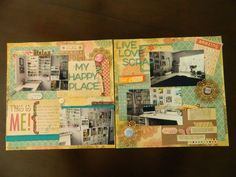 This is a double page scrapbook layout that i made specifically for a layout challenge on You Tube hosted by Mercy Tiara. And by the way, I won!