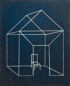 "Anita Thatcher    Open House 3, 2002    Aquatint, 30"" x 22"""