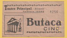 El Acorazado Cinéfilo - Le Cuirassé Cinéphile: Teatro Principal Alicante - Entradas y Programas d...