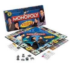 Seinfeld Edition Monopoly Board Game : Amazon.com : Sports & Outdoors