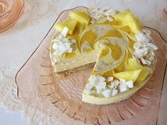 Raw Piña Colada Cheesecake