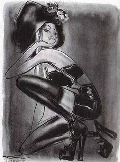 Thierry Perez - Fashion Illustrator