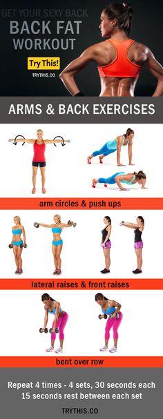 Back Fat Exercises For Bikini Body