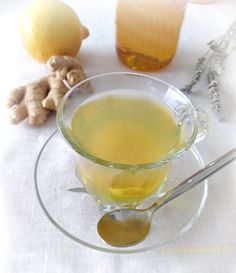 TISANA-limone-miele-zenzero