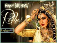 Wishing a very Happy Birthday to the evergreen beauty #Rekha. #HappyBirthdayRekha