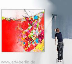 XXL art paintings. Handmade in Berlin at affordable prices.