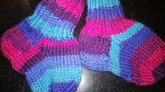 Taaperon sukat- wool socks for toddler