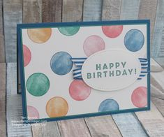 Stampin' Up! UK Demonstrator - Teri Pocock: Six Quick and Easy Backgrounds - Using Eclectic Expressions Bday Cards, Happy Birthday Cards, Stamping Up Cards, Card Sketches, Paper Cards, Cool Cards, Kids Cards, Scrapbook Cards, Making Ideas