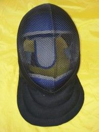Fencing Coach's Black Mask -  Price $92 from medieval fight club. The Coach's 3 weapon fencing mask, in fact we also find it suitable for HEMA/WMA wasters. This mask can withstand 350 newtons of force to the bib and lining, and it is therefore suitable for coaching in all weapons.