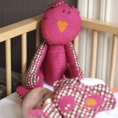 Creatief naaiatelier bij De Banier: je maakt babyspulletjes en een knuffel