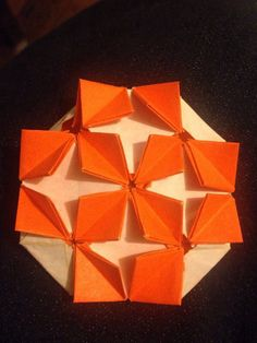 My attempt at origami