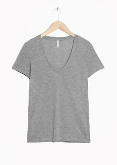& Other Stories | Scooped Neck Top