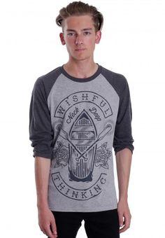 Neck Deep - Sink Or Swim Grey/Charcoal - Longsleeve - Neck Deep - Official Merchandise Shop - Impericon.com UK
