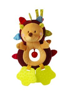 0527c0d9aaa5d Lilliputiens Simon Hedgehog - Infant Soft Rattle