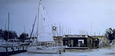Sailors, Sailing Ships, Boat, Painting, Canvas, Dinghy, Painting Art, Boats, Paintings
