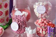 Pink and Purple Birthday Party Ideas | Photo 8 of 23 | Catch My Party