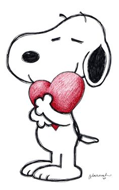 Pin by Gladys Christian on Education Snoopy Charlie Brown Y Snoopy, Snoopy Love, Snoopy And Woodstock, Pencil Art Drawings, Cute Drawings, Art Sketches, Peanuts Cartoon, Peanuts Gang, Peanuts Movie