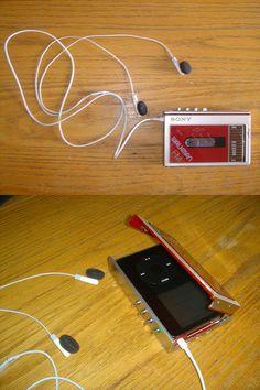 Sony Walkman iPod hipster