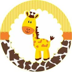 Sweet Jungle: Free Printable Wrappers and Toppers for Cupcakes. Giraffe Birthday Parties, Jungle Theme Birthday, Safari Theme Party, Safari Birthday Party, Jungle Party, Animal Birthday, Animal Party, Baby Boy Shower, Clipart