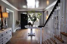 high gloss foyer ceiling