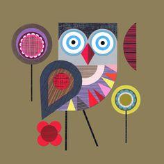Night Owl - Ellen Giggenbach Prints - Easyart.com