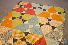 Great pattern for EPP shapes - Jewels and Triangles