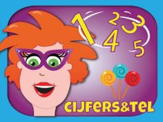 Cijfers en getallen leren en tellen – Juf Jannie 3-6 jaar * Cijfers en getallen herkennen * Cijfers en getallen bij de juiste aantallen * Telrij