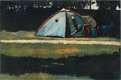'Tent' etching by Colin Martin (Edition of Black Church, Dublin, Printmaking, Outdoor Gear, Tent, Fine Art Prints, Contemporary, Studio, Gallery