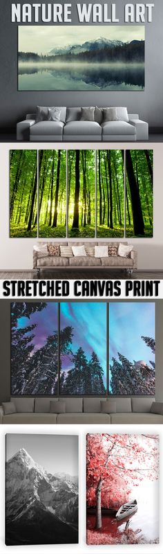 Extra large Nature Wall Art for Home & Office decoration.