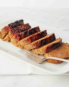 Mrs. Kostyra's Meatloaf (Martha's Cooking School). So moist - the best meatloaf I've ever had