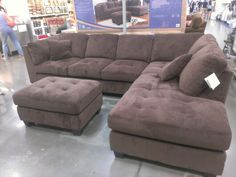 Costco Sofa $800 122 x 84