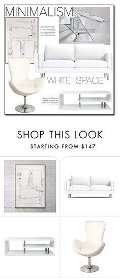 """WHITE SPACE HOME SETS"" by littlefeather1 ❤ liked on Polyvore featuring interior, interiors, interior design, home, home decor, interior decorating, Furniture of America, topsets, MyStyle and polyvoreeditorial"