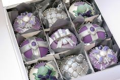 Vintage Christmas Cupcakes