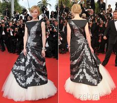 Alexander McQueen Red Carpet Runway Gown Dress Circa 2010 Cannes Film Festival | eBay