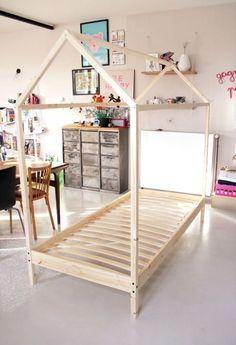 DIY - le fameux lit cabane - Tête d'ange                                                                                                                                                                                 Plus