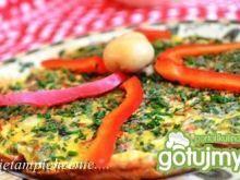 Omlet z papryką i pieczarkami Tzatziki, Omelette, Carrots, Vegetables, Omelet, Carrot, Vegetable Recipes, Frittata, Veggies