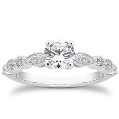 "<span style=""font-size: 12px;"">Vintage Ring with Round and Marquise Shapes</span>"