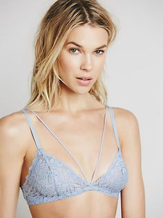 Midnight Hour Triangle Bra at Free People Clothing Boutique