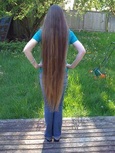 Really Long Hair, Super Long Hair, Beautiful Girl Indian, Beautiful Long Hair, Long Hairstyles, Pretty Hairstyles, Rapunzel Hair, Cut Her Hair, Tin Man