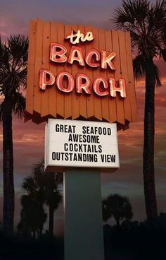 The Back Porch Destin FL - One of our favorite places