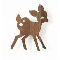 Use the pretty wooden lamps from Ferm Living to create a cute, but still stylish…