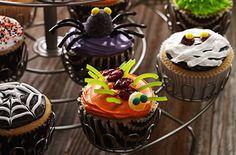 Halloween Cupcakes. http://www.oceanspray.com/Recipes/Corporate/Desserts---Snacks/Halloween-Cupcakes.aspx