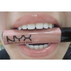NYX Mega Shine Lip Gloss ❤ liked on Polyvore featuring beauty products, makeup, lip makeup, lip gloss, lip shine, nyx, nyx lipgloss, lip gloss makeup and shiny lip gloss