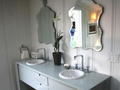 Great ideas for beautiful bathrooms. Browse the photo gallery of gorgeous sinks and vanities from DIY Network's popular shows.