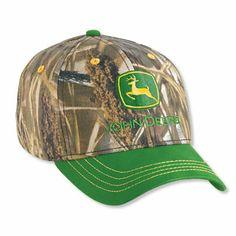 6bfca8628c1f2 John Deere YOUTH Camo Advantage Max-4 HD CAp John Deere Hats