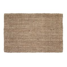 Jute door mat natural grey - 70x120 cm - Dixie