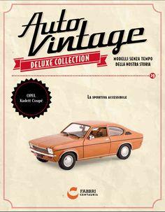 #Opel Kadett Coupè #Auto #Vintage #modelli #edicola